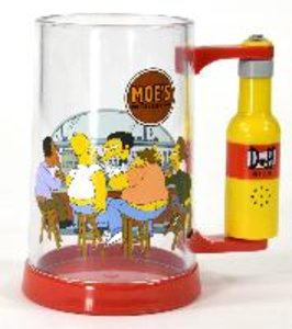 "The Simpsons - Sprechendes Bierglas ""Mhm, Beer"""