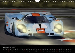 Porsche inspired Artwork by Reinhold Art