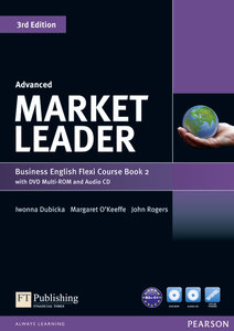 Market Leader Advanced Flexi Course Book 2 Pack