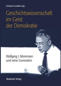 Geschichtswissenschaft im Geist der Demokratie