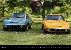 Opel GT Der Kalender