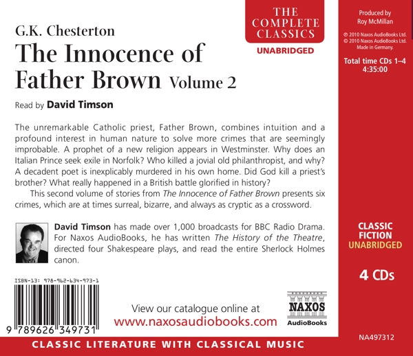 Innocence Of Father Brown Vol.2 - zum Schließen ins Bild klicken
