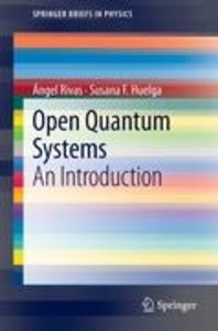 Open Quantum Systems