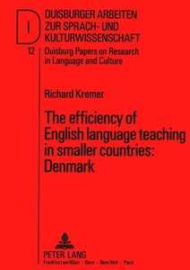 The efficiency of English language teaching in smaller countries