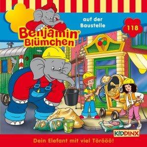 Benjamin Blümchen 118 ... auf der Baustelle