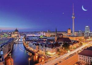 Berlin bei Nacht. Puzzle 1000 Teile