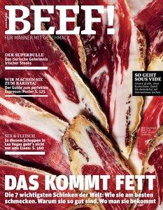 BEEF! - Für Männer mit Geschmack. Ausgabe 1/2013