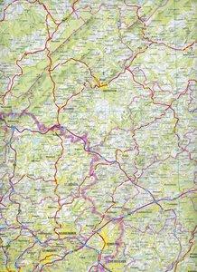 Übersichtskarte Rheinland-Pfalz / Saarland 1 : 250 000