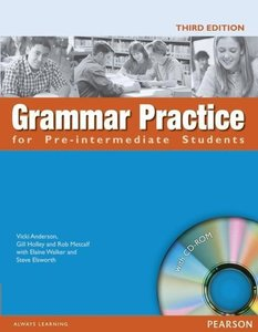 Grammar Practice for Pre-Intermediate Student Book no key pack