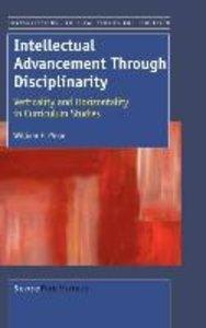 INTELLECTUAL ADVANCEMENT THROUGH DISCIPLINARITY