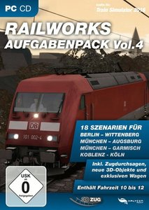 Train Simulator 2015 - RAILWORKS Aufgabenpack Vol. 4