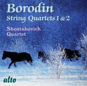Borodin Streichquartette 1+2