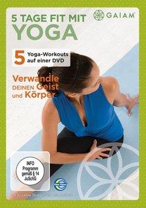 Gaiam-5 Tage fit mit Yoga