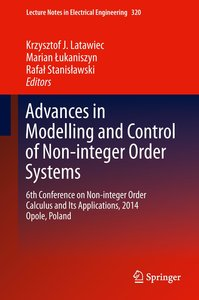 Advances in Modelling and Control of Noninteger-order Systems