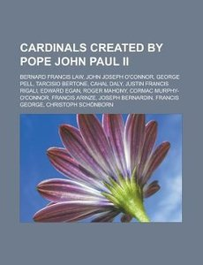 Cardinals created by Pope John Paul II