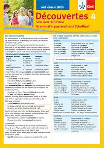 Découvertes - Série jaune / bleue 04. Grammatik passend zum Schu