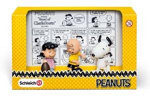 Schleich 22014 - Peanuts Scenery Pack Classic Spielzeugfiguren