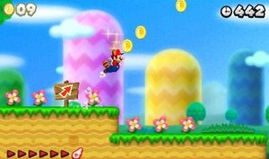 Nintendo 3DS XL Konsole - rot inkl. New Super Mario Bros. 2