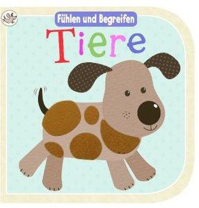 Little Learners: Fühlbuch Tiere
