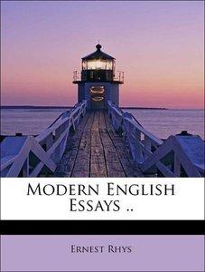 Modern English Essays ..