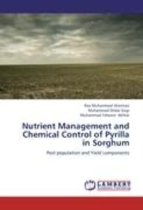 Nutrient Management and Chemical Control of Pyrilla in Sorghum