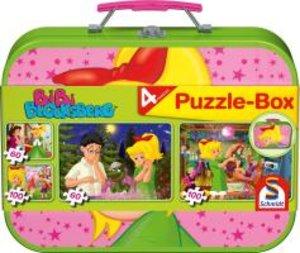 Bibi Blocksberg. Puzzle-Box 2 x 60, 2 x 100 Teile