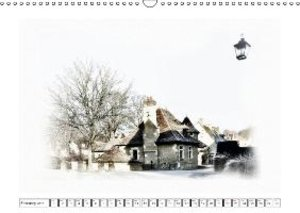 Old houses in Berry (Wall Calendar 2015 DIN A3 Landscape)