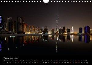Dubai & Abu Dhabi / UK - Version (Wall Calendar 2015 DIN A4 Land