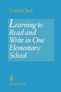 Learning to Read and Write in One Elementary School