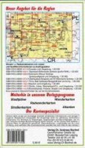 Oberlausitz und Dreiländereck 1 : 125 000 Ausflugskarte