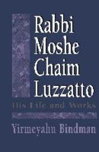 Rabbi Moshe Chaim Luzzatto