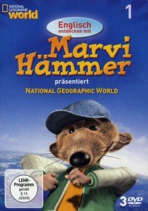 National Geographic:Englisch m.Marvi Hammer Box 1