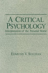 A Critical Psychology