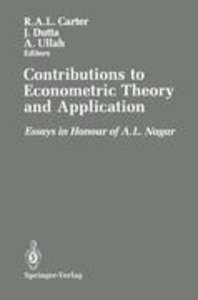 Contributions to Econometric Theory and Application