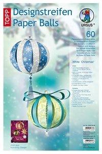 """Paperballs-Weihnachts-Set 1 """"Frozen-Natur"""""""