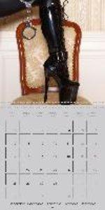 Erotica . Sensual Leather & Lingerie Fantasies (Wall Calendar 20