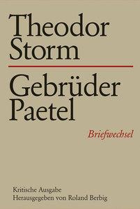 Theodor Storm - Gebrüder Paetel