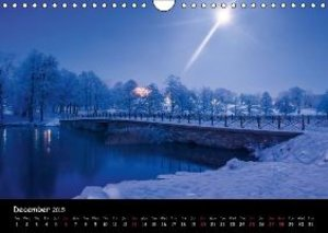 Places of beauty (Wall Calendar 2015 DIN A4 Landscape)