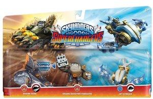 Skylanders Superchargers: 3 Pack Multi Pack 1 (Shark Shooter Ter