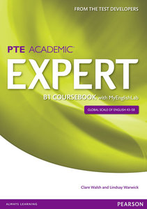 Expert Pearson Test of English Academic B1 Coursebook and MyEngl