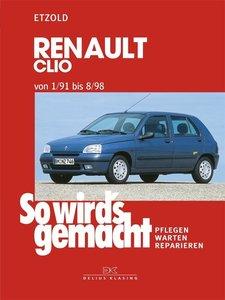 So wird's gemacht RENAULT CLIO von 1/91 bis 8/98
