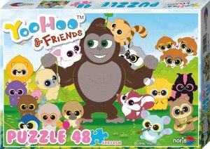 Noris 606031127 - Yoohoo and Friends - Puzzle, Frühling, 48 Teil