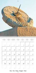 Sundials - Counting the sunshine hours (Wall Calendar 2015 300 ×