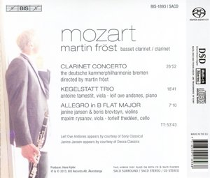Fröst spielt Mozart