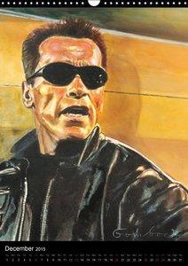 Arnold Schwarzenegger / UK-Version (Wall Calendar 2015 DIN A3 Po
