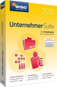 WISO Unternehmer Suite 2015 (Warenwirtschaft/Buchhaltung/Lohn&Ge