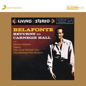 Belafonte Returns To Carnegie Hall-K2HD-CD