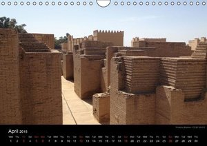 Iraq Monuments 2015 (Wall Calendar 2015 DIN A4 Landscape)
