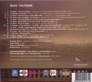 Imbert, R: Bach-Coltrane - zum Schließen ins Bild klicken