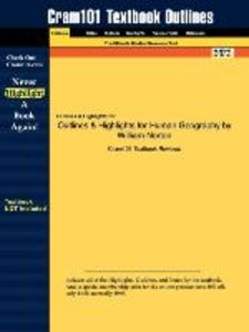 Outlines & Highlights for Human Geography by William Norton